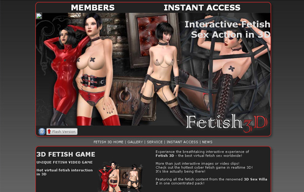 Fetish 3D Preview