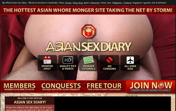 Join Asian Sex Diary For Free