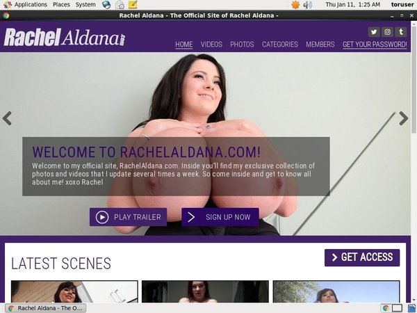 Rachel Aldana Login Account
