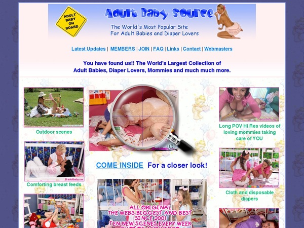 Adultbabysource Users
