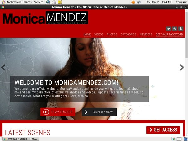 Monica Mendez Free Login And Password