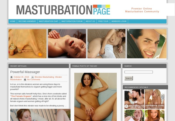 Masturbationpage.com Without CC